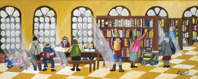 Stoney Point Library by Laurel Hibbert