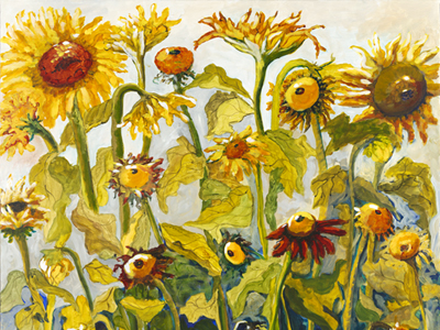 Sunflowers by Laurel Hibbert