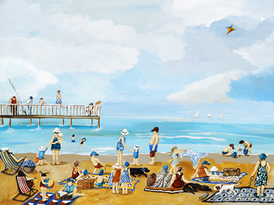 The Seaside by Laurel Hibbert